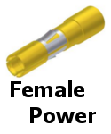APEX Female Power Contacts