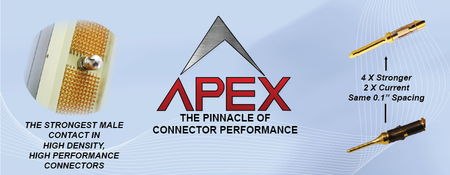 APEX the pinnacle of connector performance